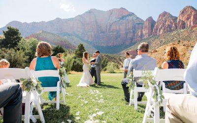 Zion National Park Elopement (Destination Wedding)