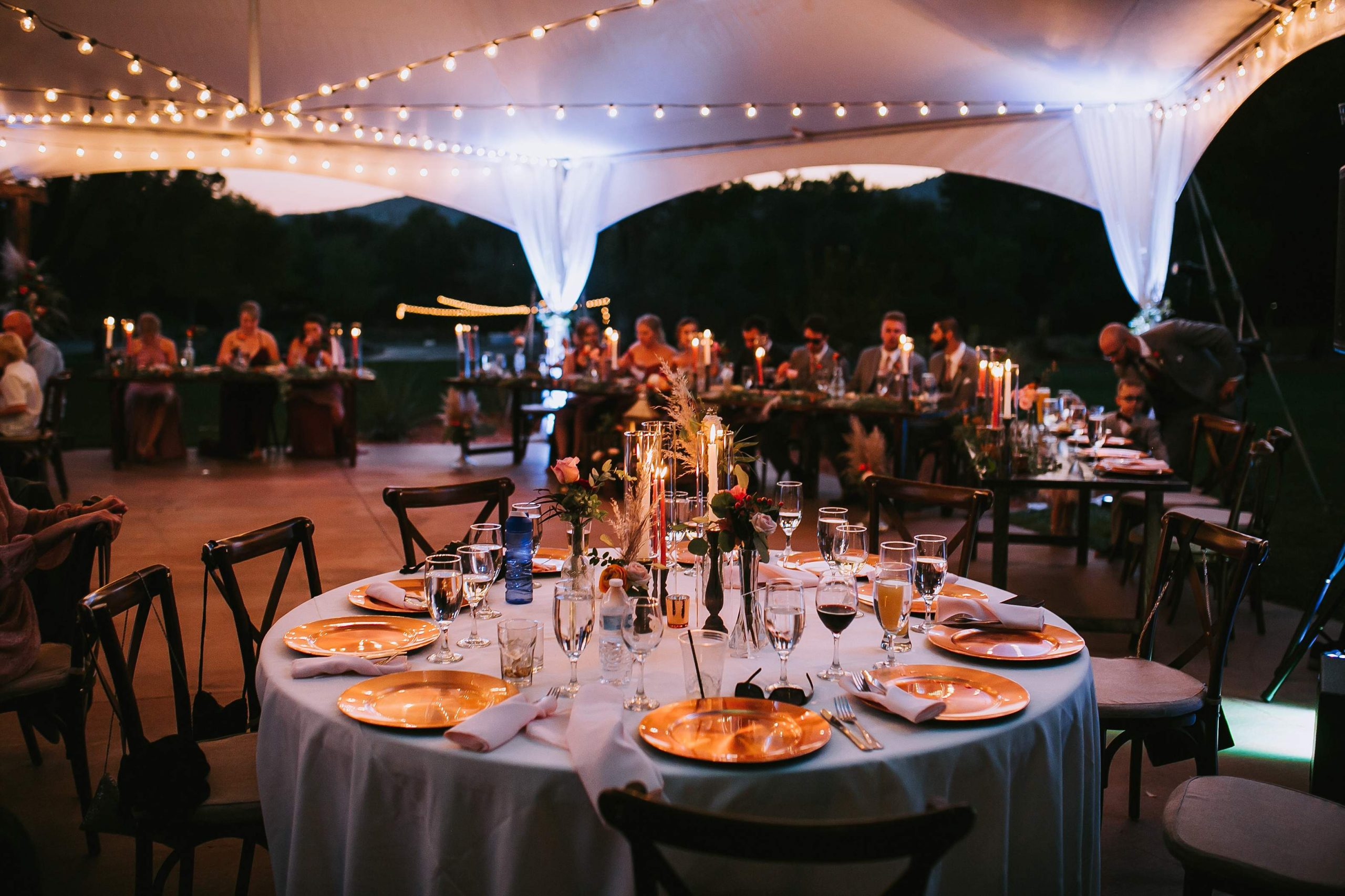 What size tent utah wedding event planner weather
