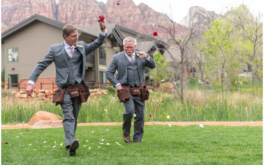 Switchback Grill Wedding: Mary and Wes