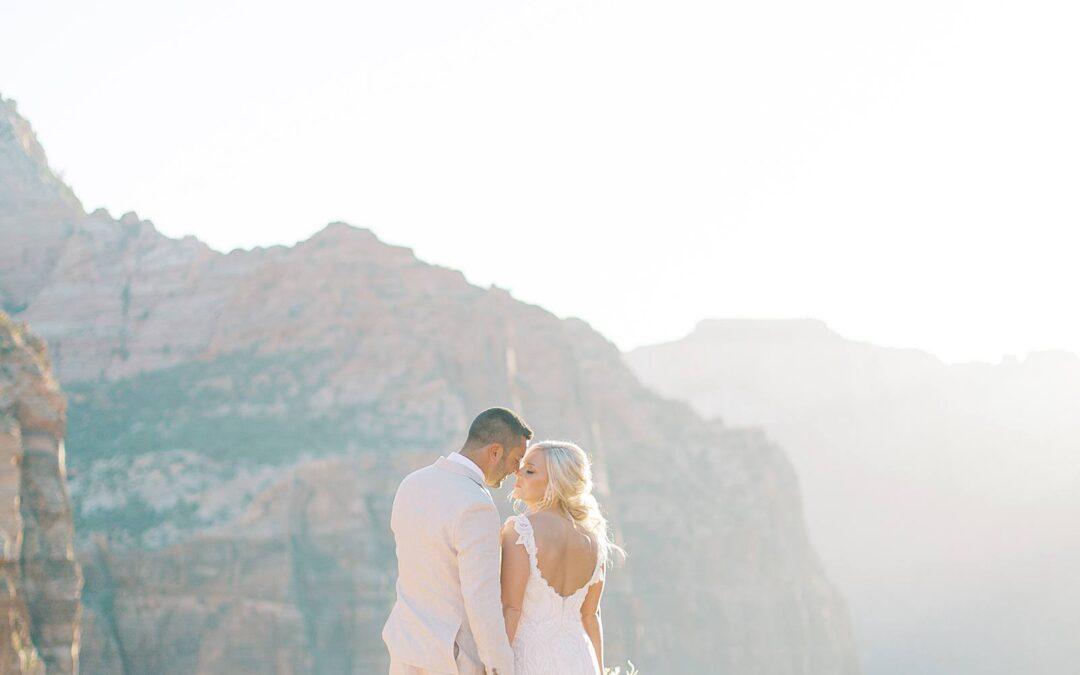 Christina and Cody- Entrada at Snow Canyon Wedding