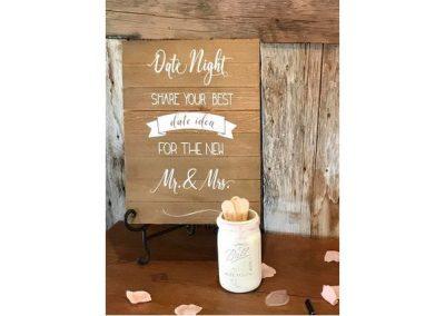 Date Night Sign