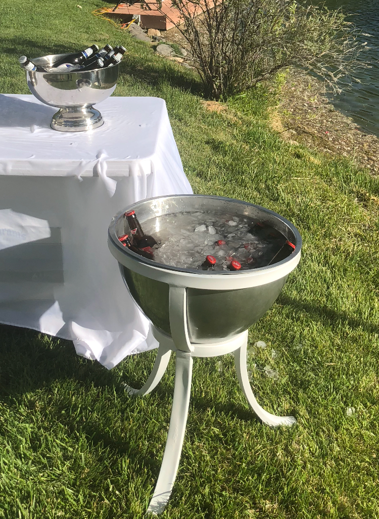 Ice Bucket Stand