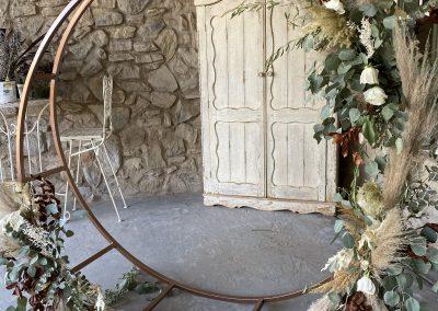Round Metal Arch