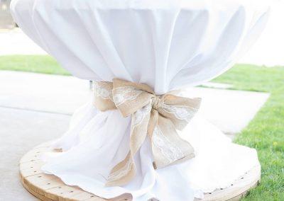 Linen over spool
