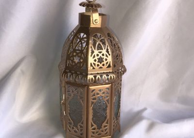 Medium sized gold lantern
