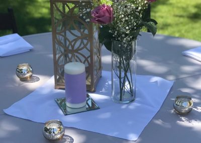 Votives and Lantern