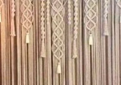 Macramé Backdrop